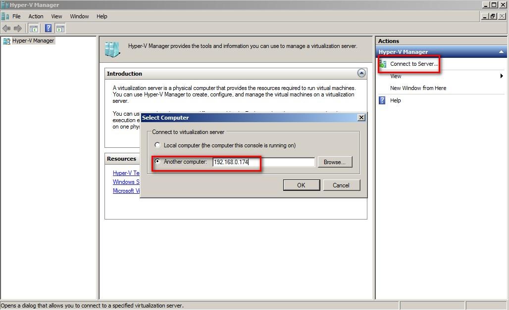 enable hyper v management tools