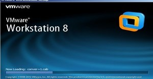 Start VMWare Workstation 8 Install by clicking on the exe you downloaded