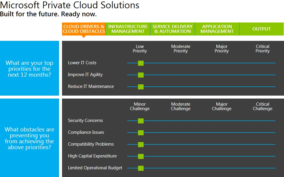 Use Microsoft Customer Assessment Tool for Private Cloud